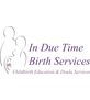 In Due Time Birth Services Logo