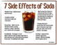 The side effects of Soda Drinks – Infographic Logo