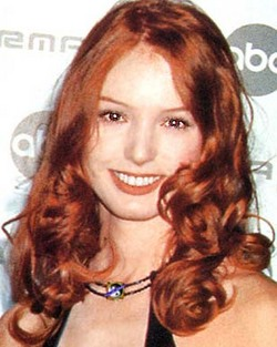 Alicia Witt - 2a, Redhead, Celebrities, Wavy hair, Long hair styles, Female hairstyle picture