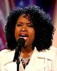 Jennifer Hudson - Brunette, 4b, Celebrities, Medium hair styles, Afro, Female hairstyle picture
