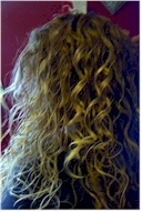 Danielle M. - Blonde, 3a, Long hair styles, Readers, Female, Curly hair hairstyle picture