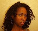 Tia - Brunette, 3b, 3c, Medium hair styles, Kinky hair, Readers, Female, Curly hair hairstyle picture