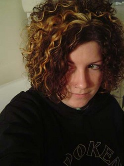 daila - Brunette, 3a, Short hair styles, Readers, Female, Curly hair hairstyle picture