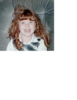 Danielle - Redhead, 2b, Wavy hair, Kids hair, Long hair styles, Readers hairstyle picture