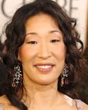 Sandra Oh - Brunette, 2b, Celebrities, Wavy hair, Long hair styles, Female hairstyle picture
