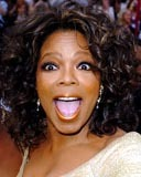 Oprah Winfrey - Brunette, 3a, Celebrities, Medium hair styles, Female, Curly hair hairstyle picture