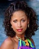 Stacey Dash - Brunette, 3b, Celebrities, Medium hair styles, Updos, Braids, Female, Curly hair hairstyle picture