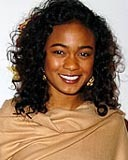 Tatyana Ali - Brunette, 3a, Celebrities, Medium hair styles, Female, Curly hair hairstyle picture