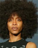 Erykah Badu - Brunette, 4b, Celebrities, Short hair styles, Afro, Female hairstyle picture