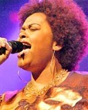 Jill Scott - Brunette, 4b, Celebrities, Short hair styles, Afro, Female hairstyle picture