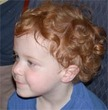 curly red - Kids hair