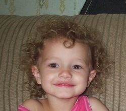 Olivia - Blonde, 3a, Short hair styles, Kids hair, Readers, Curly hair hairstyle picture