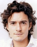 Orlando Bloom - Brunette, 3a, Celebrities, Male, Short hair styles, Curly hair hairstyle picture