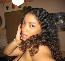 Laura - Brunette, 3b, Long hair styles, Readers, Female, Curly hair hairstyle picture