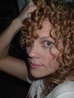 Andrea - Blonde, 3b, Long hair styles, Readers, Female, Curly hair hairstyle picture