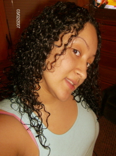 Karina - Brunette, 3c, Long hair styles, Readers, Female, Curly hair hairstyle picture