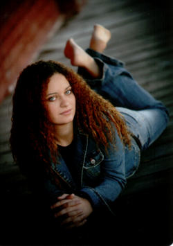 Ashlie - Redhead, 3b, 3c, Long hair styles, Readers, Curly hair, Teen hair hairstyle picture