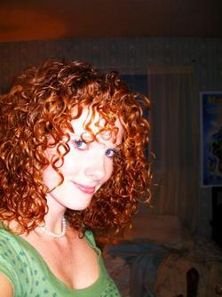 Allie - Redhead, 3b, Medium hair styles, Readers, Female, Curly hair hairstyle picture