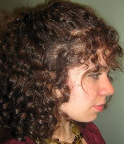 Ashleigh - Brunette, 3b, Medium hair styles, Updos, Readers, Curly hair, Teen hair hairstyle picture