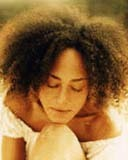 Cree Summer - Brunette, 4a, Celebrities, Medium hair styles, Kinky hair, Afro, Female, Adult hair hairstyle picture