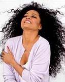 Diana Ross - Brunette, 4b, Celebrities, Mature hair, Kinky hair, Long hair styles, Female, Black hair, Adult hair, Layered hairstyles hairstyle picture