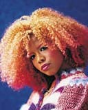 Kelis - Redhead, 4b, Celebrities, Medium hair styles, Kinky hair, Female, Adult hair, Layered hairstyles hairstyle picture