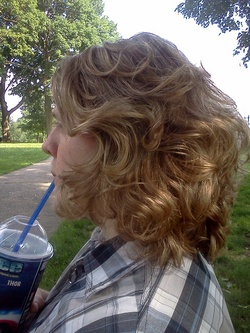 JoeJoe's Golden Curls - Male, Readers, Eyes on the Guys hairstyle picture