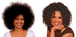 Diane's Makeover - Brunette, Medium hair styles, Kinky hair, Female, Makeovers, Adult hair hairstyle picture