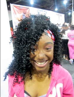 Bronner Brothers 2011 - 3b, 3c, Styles, Curly hair, Spiral curls, Textured Tales from the Street hairstyle picture