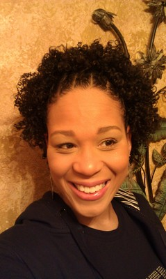 Curly&#45;Fro with Cornrowed Flat&#45;Twists - Brunette, 3c, 4a, Short hair styles, Kids hair, Twist hairstyles, Afro, Female, Teen hair, Adult hair, Flat twists, Cornrows hairstyle picture