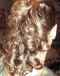 back of my curlhawk - Blonde