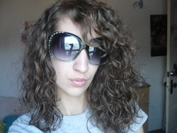 Curly Hairstyle with lots of Volume - Brunette, Wavy hair, Long hair styles, Readers, Styles, Female, Curly hair, Teen hair, Adult hair, Afro puff, Layered hairstyles hairstyle picture