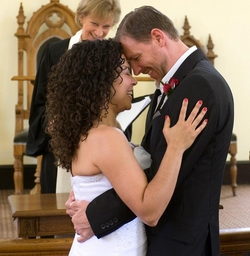 My wedding day profile - Brunette, Long hair styles, Readers, Female, Curly hair, Black hair, Adult hair hairstyle picture