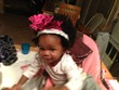natural 1st birthday pic - Black hair