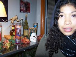 DAY OF THE DEAD CURLS - 3b, 3c, Long hair styles, Readers, Female, Curly hair, Black hair, Adult hair, Natural Hair Celebration hairstyle picture