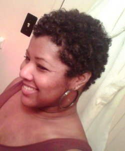 Rockin my TWA - Brunette, 3c, Short hair styles, Readers, Styles, Female, Curly hair, Black hair, Adult hair, Teeny weeny afro hairstyle picture