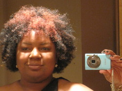 Fabulous fro for the New Year - Readers, 2010 Holiday Photos hairstyle picture