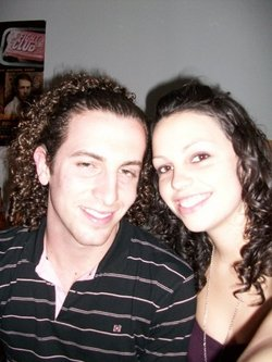 Garrett & Sarah - Curly Cohorts - Male, Readers, Eyes on the Guys hairstyle picture