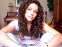 Good hair day :) - Brunette, 3b, 3a, Long hair styles, Readers, Female, Curly hair hairstyle picture