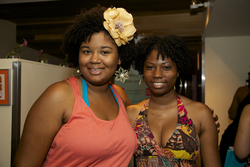 Coils at the Curly Pool Party - Short hair styles, Kinky hair, Afro, Female, Black hair, Adult hair, Curly kinky hair, Textured Tales from the Street hairstyle picture
