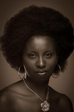 Oj from Natural Nubian - 4b, Medium hair styles, Kinky hair, Afro, Readers, Black hair, Adult hair hairstyle picture