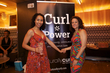 curls color and curl power at the curly pool party - Black hair