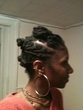 twists and bantus - Kinky hair, 4a, 4b