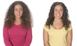 ouidad makeover for dry curls -