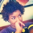 bantu knot out - Brunette