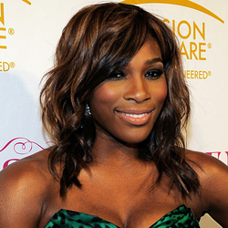 Serena Williams - Brunette, Celebrities, Medium hair styles, Kinky hair hairstyle picture
