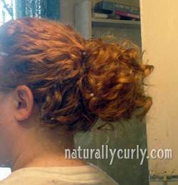 Messy Bun - Redhead, Readers, Styles, Female, Curly hair, Buns hairstyle picture