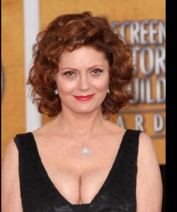 Susan Sarandon - Redhead, 3a, Celebrities, Mature hair, Medium hair styles, Curly hair hairstyle picture
