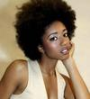gorgeous fro - Afro puff