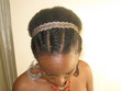 flat twist - afro